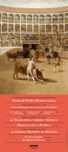 Feria de Pedro Romero, en Ronda (Málaga).
